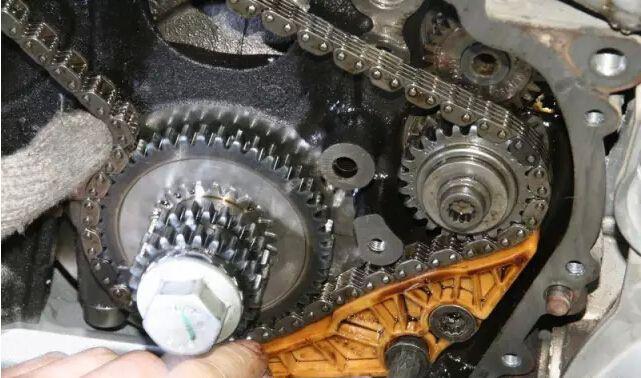 【迈腾发动机正时链条】