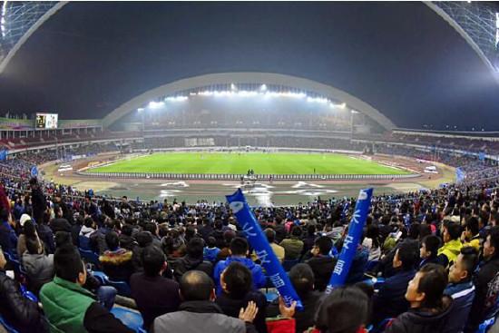 长安福特2017中国足球协会超级杯赛再次在重庆打响