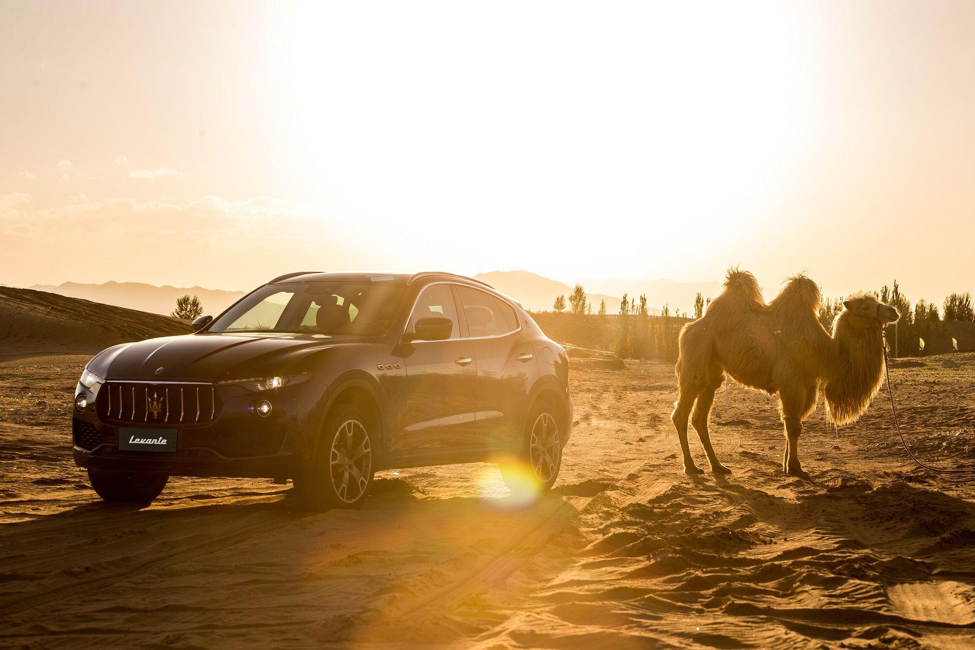 越天漠骋天际,玛莎拉蒂suv越野之旅迎风启行