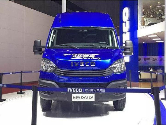 [新车]依维柯New Daily 11月将于武汉全国首发上市